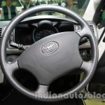 Toyota Hiace Auto Expo 2014 steering wheel