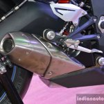 Triumph Daytona 675 exhaust detail live