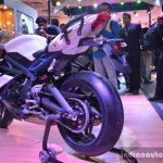 Triumph Daytona 675 rear three quarter live