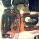 Updated Nissan Evalia Auto Expo 2014 center console