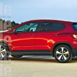 VW Polo based SUV rendering side