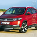 VW Polo based SUV rendering