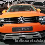 VW Taigun front fascia at Auto Expo 2014
