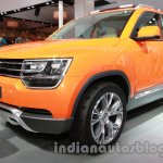 VW Taigun front three quarters right at Auto Expo 2014