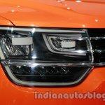 VW Taigun headlamp at Auto Expo 2014