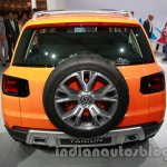 VW Taigun rear at Auto Expo 2014