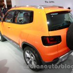 VW Taigun rear three quarters at Auto Expo 2014