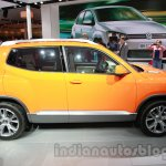 VW Taigun side at Auto Expo 2014
