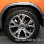 VW Taigun wheel at Auto Expo 2014