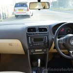 VW Vento TSI Review dashboard