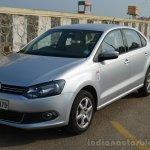 VW Vento TSI Review front quarter