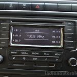 VW Vento TSI Review music system