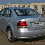 VW Vento TSI Review rear quarter