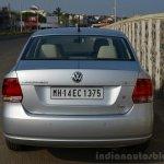 VW Vento TSI Review rear