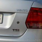 VW Vento TSI Review taillight