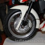 Vardenchi T5 front wheel at Auto Expo 2014