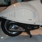 Vespa 946 engine cowl at Auto Expo 2014