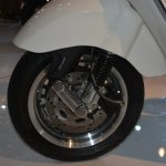 Vespa 946 front disc brake at Auto Expo 2014