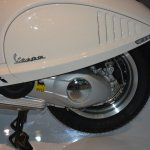Vespa 946 powertrain at Auto Expo 2014