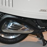 Vespa 946 rear wheel at Auto Expo 2014