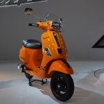Vespa S front three quarters at Auto Expo 2014