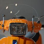 Vespa S headlamp at Auto Expo 2014