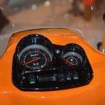 Vespa S instrument cluster at Auto Expo 2014