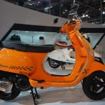 Vespa S side at Auto Expo 2014