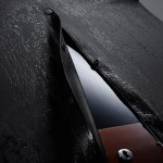 Volvo Concept Estate Stutterheim Raincoats window