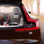 Volvo Concept Estate cabin rear view