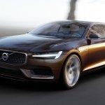 Volvo Concept Estate front three quarters