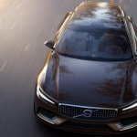 Volvo Concept Estate leaked front top