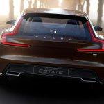 Volvo Concept Estate leaked rear
