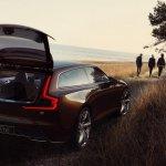 Volvo Concept Estate leaked tailgate open