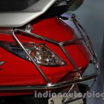 Yamaha Alpha with accessories Auto Expo light guard