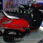Yamaha Alpha with accessories Auto Expo rear