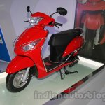 Yamaha Alpha with accessories Auto Expo side