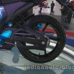Yamaha FZ-S Concept Auto Expo rear wheel