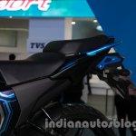 Yamaha FZ-S Concept Auto Expo seat