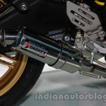 Yamaha R15 Special Edition Auto Expo exhaust