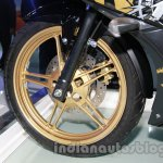 Yamaha R15 Special Edition Auto Expo wheel front