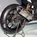 Yamaha R25 Auto Expo exhaust
