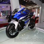 Yamaha R25 Auto Expo front three quarter