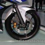 Yamaha R25 Auto Expo front wheel