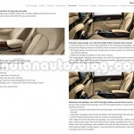 2014 Audi A8 Indian brochure rear seats