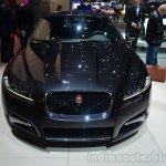 2015 Jaguar XFR-Sport diesel front - Geneva Live