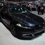 2015 Jaguar XFR-Sport diesel front three quarter - Geneva Live