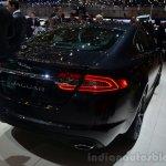 2015 Jaguar XFR-Sport diesel rear three quarter - Geneva Live