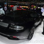 Aston Martin DB9 Carbon Black Edition rear three quarters at Geneva Motor Show