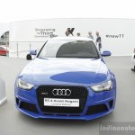 Audi RS4 Avant Nagaro front at the 2014 Goodwood Festival of Speed